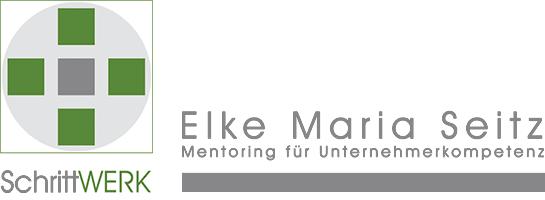 Werke – SchrittWerk – Elke-Maria Seitz Logo